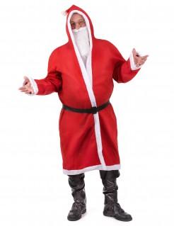 Klassischer Weihnachtsmann Herrenkostüm Nikolaus rot-weiss