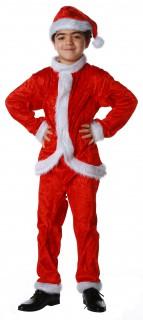 Weihnachtsmann Nikolaus Kinderkostüm für Jungen