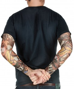 Tattoo ärmel haut-schwarz