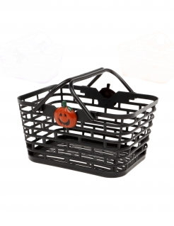 Süßigkeiten-Korb Halloween Deko schwarz