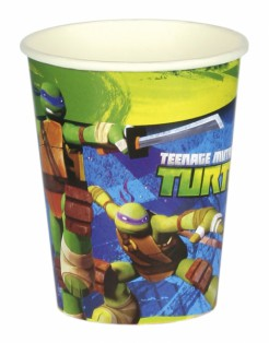Teenage Mutant Ninja Turtles™ Partybecher Lizenzware 8 Stück bunt 266ml