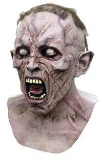 Horror- Maske Zombie World War Z Lizenzware hautfarben