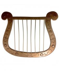 Harfe für Engel gold 22x28cm