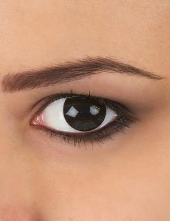 Kontaktlinsen Halloween schwarz