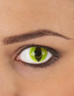 Kontaktlinsen Katze schwarz-gelb