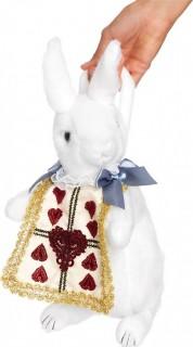 Weisses Kaninchen Handtasche Geldbeutel weiss-bunt
