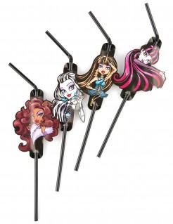 Monster High 2™ Strohhalme 8 Stück Lizenzware