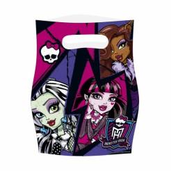 Monster High 2™ Partytüten 6 Stück Lizenzartikel