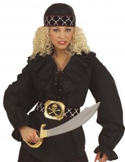 Piraten Bandana schwarz