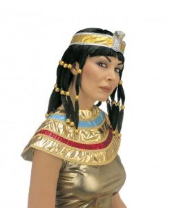 Cleopatra Perücke für Damen braun