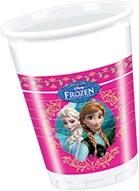 Disney Frozen Plastikbecher Kinderparty-Deko bunt 8 Stück 200ml