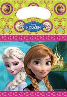 Frozen Die Eiskönigin™ Kindergeburtstags Geschenktüten Partytüten 6 Stück bunt
