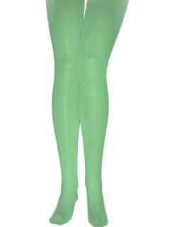 Strumpfhose blickdicht Kostümzubehör grün 60 DEN