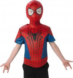 Kostüm The Amazing Spiderman 2 Oberteil für Kinder