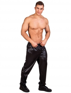 Herren Striptease-Hose in Schwarz