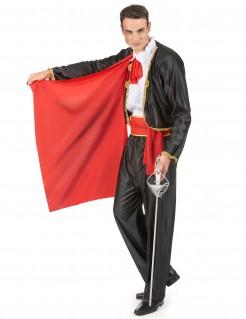 Matador Stierkämpfer Herrenkostüm schwarz-rot
