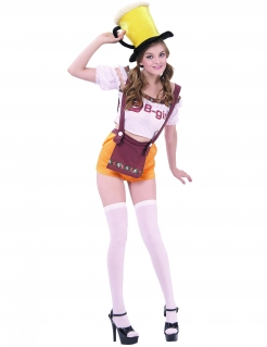 Lustige Bayerin Volksfest-Kostüm bunt
