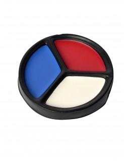 Frankreich-Make-up Russland-Schminke blau-weiss-rot