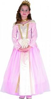 Prinzessin Kinderkostüm rosa-gold