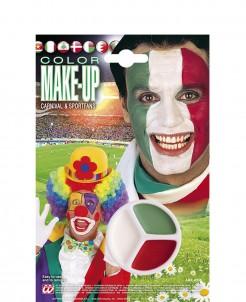 Tricolor Make-Up rot-weiss-grün 14g rot-weiss-grün