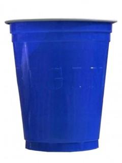 Partybecher Party-Zubehör 20 Stück blau 530ml