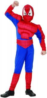Spinnenmann Kinderkostüm Superheld rot-blau