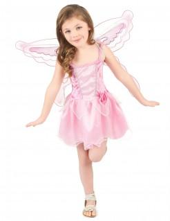 Schmetterlings-Mädchenkostüm Fee Märchenkostüm rosa