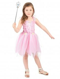 Süße Märchen-Fee Kinderkostüm rosa