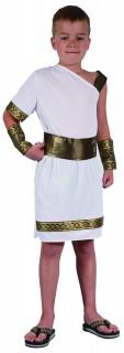 Römer-Kinderkostüm Antike weiss-gold