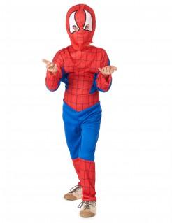 Spinnenmann-Kinderkostüm Superhelden-Kostüm rot-blau-weiss