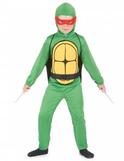 Schildkröten Ninja Kinderkostüm grün-gelb-rot