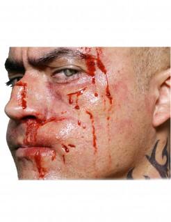 Boxer Halloween-Tattoo 2-teilig haut-rot