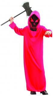 Kleiner Teufel Kinderkostüm Skull rot-schwarz