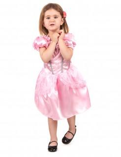 Prinzessinnen Kostüm für Kinder Märchen rosa