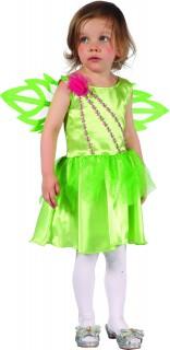 Waldfee-Kinderkostüm Märchenkostüm grün