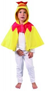 Huhn Umhang Kinder-Kostüm gelb-bunt