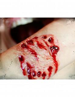 BisswundeTattoo Halloween-Makeup hautfarben-rot