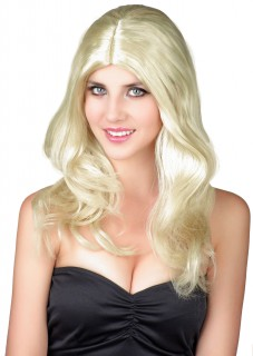 Edle Damen-Perücke blond