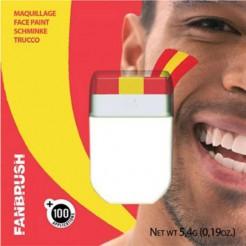 Spanien Schminkstift Fanartikel rot-gelb