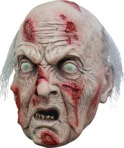 Blinder Zombie-Grossvater Halloween-Maske hautfarben-rot