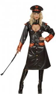 Domina Kostüm schwarz-orange