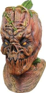 Horror-Kürbis Halloween-Maske orange