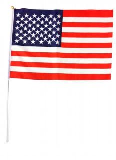 Fahne USA Motiv Fanartikel rot-weiss-blau