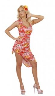 Hawaiianerin Damenkostüm lila