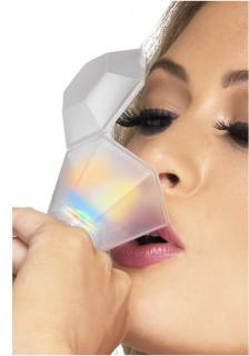 Erwachsenen Leuchtring-Trinkglas Partyaccessoire bunt