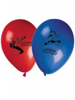 Spiderman Luftballons Marvel-Lizenzartikel 8 stück blau-rot