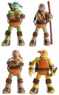 Plastikfigur-deko Ninja Turtles Lizenzartikel bunt 7 cm