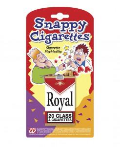 Scherzartikel künstliche Zigarettenschachtel