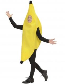 Kinderkostüm Banane gelb-schwarz