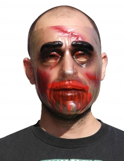 Kannibale Halloween-Maske transparent